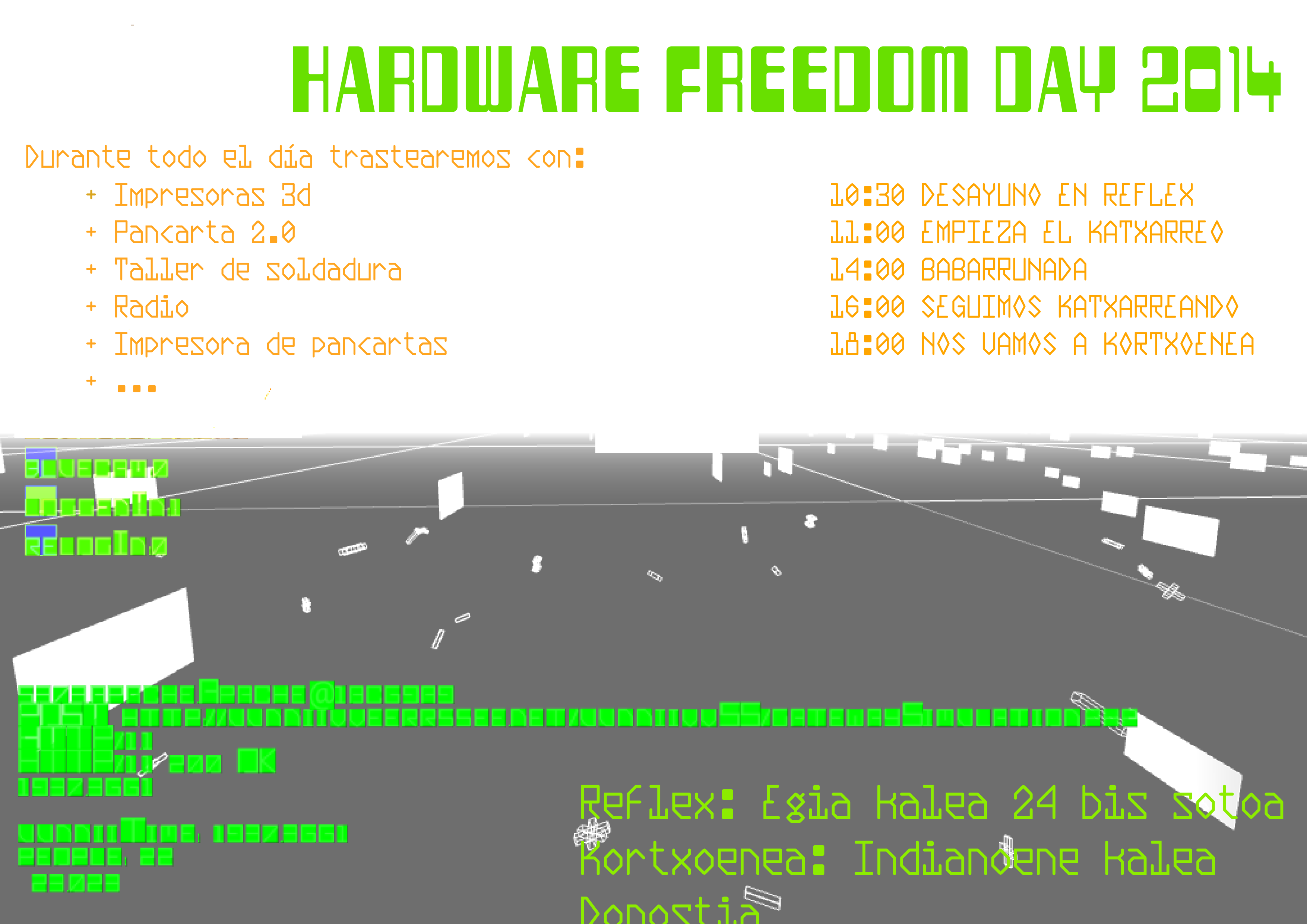 Hardware Freedom Day 2014